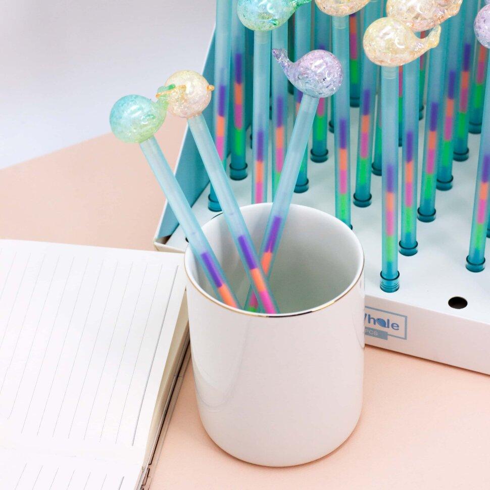 Купить Ручка Blue whale , mix, iLikeGift, Китай