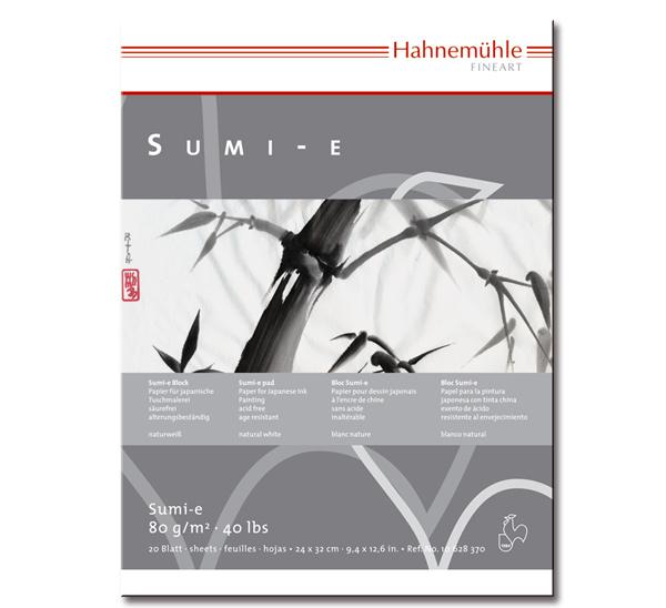 """Купить со скидкой Альбом для каллиграфии Hahnemuhle """"SUMI-E"""" 24x32 см 20 л 80 г"""