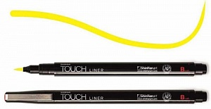 Купить Линер Touch Liner Brush желтый, ShinHan Art (Touch), Южная Корея