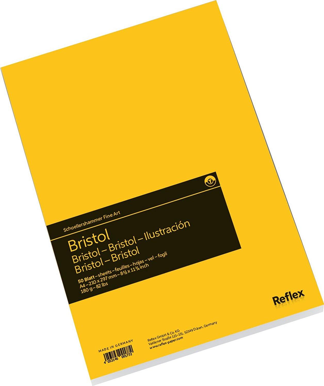 Купить Альбом-склейка для графики Reflex Bristol 21х29, 7 см 50 л 180 г, Германия