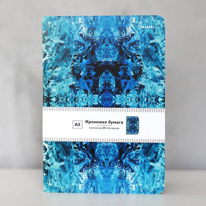 Купить Блокнот FALAFEL BOOKS А5 Fractal, Россия