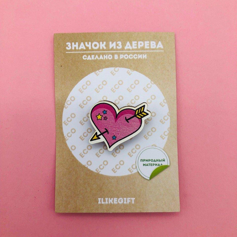Купить Значок Heart , iLikeGift, Китай