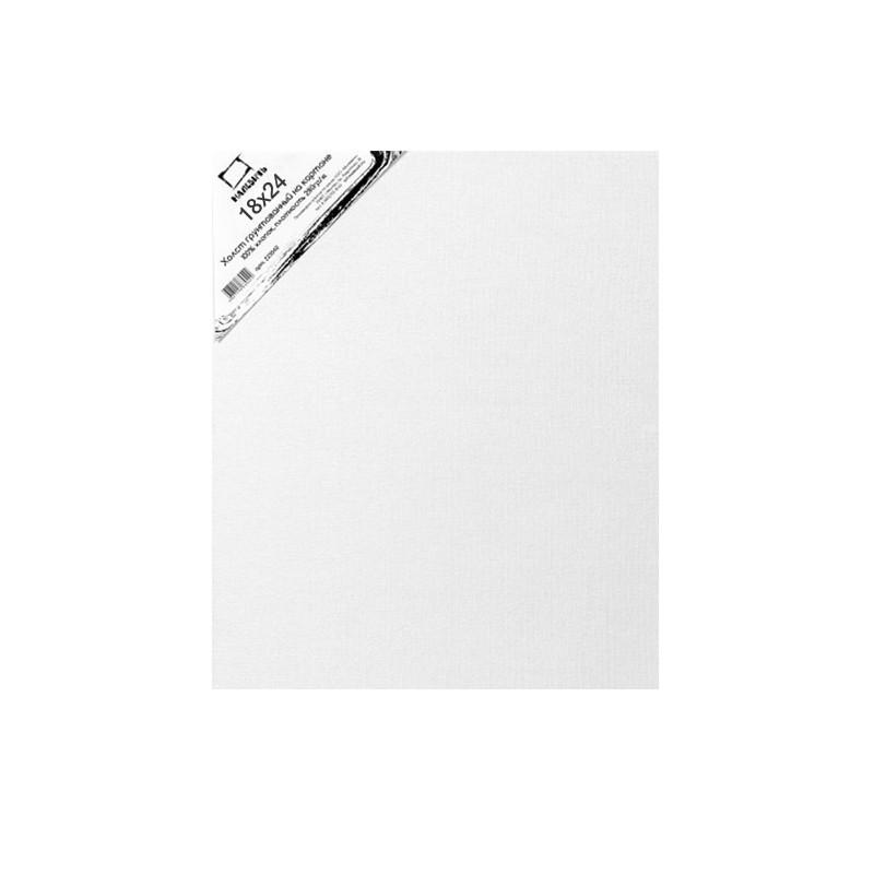 Купить Холст грунтованный на картоне Малевичъ 18x24 см, Россия