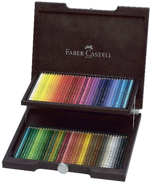 Купить Набор карандашей цветных Faber-castell Polychromos 72 цв проф-ные, Faber–Сastell, Германия