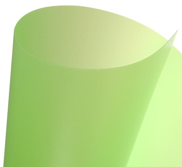 Купить Пластик Canson 50х70 см 455 г зеленый лимон, Франция
