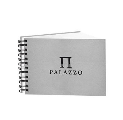 Купить Блокнот для эскизов Лилия Холдинг PALAZZO А4 60 л 200 г бумага рисовальная белая, Россия