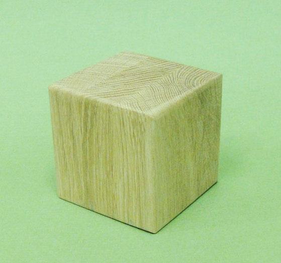 Купить Заготовка деревянная Эль-Стар Кубик 3, 6х3, 6 см Дуб, Эль-стар, Россия