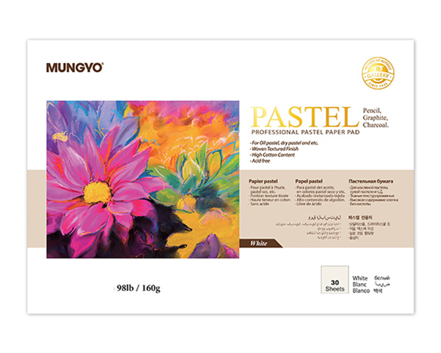 Купить Альбом-склейка для пастели MUNGYO Pastel А4 30 л 160 г (белая бумага), Южная Корея