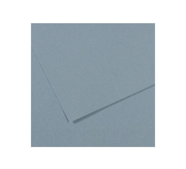 Купить Бумага для пастели Canson MI-TEINTES 75x110 см 160 г №490 светло-голубой, Франция