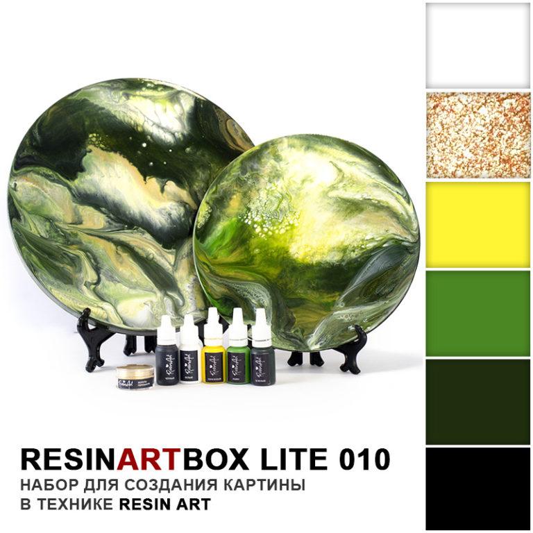 Купить Набор для создания картины из эпоксидной смолы ResinArtBox LITE 010 , Франция