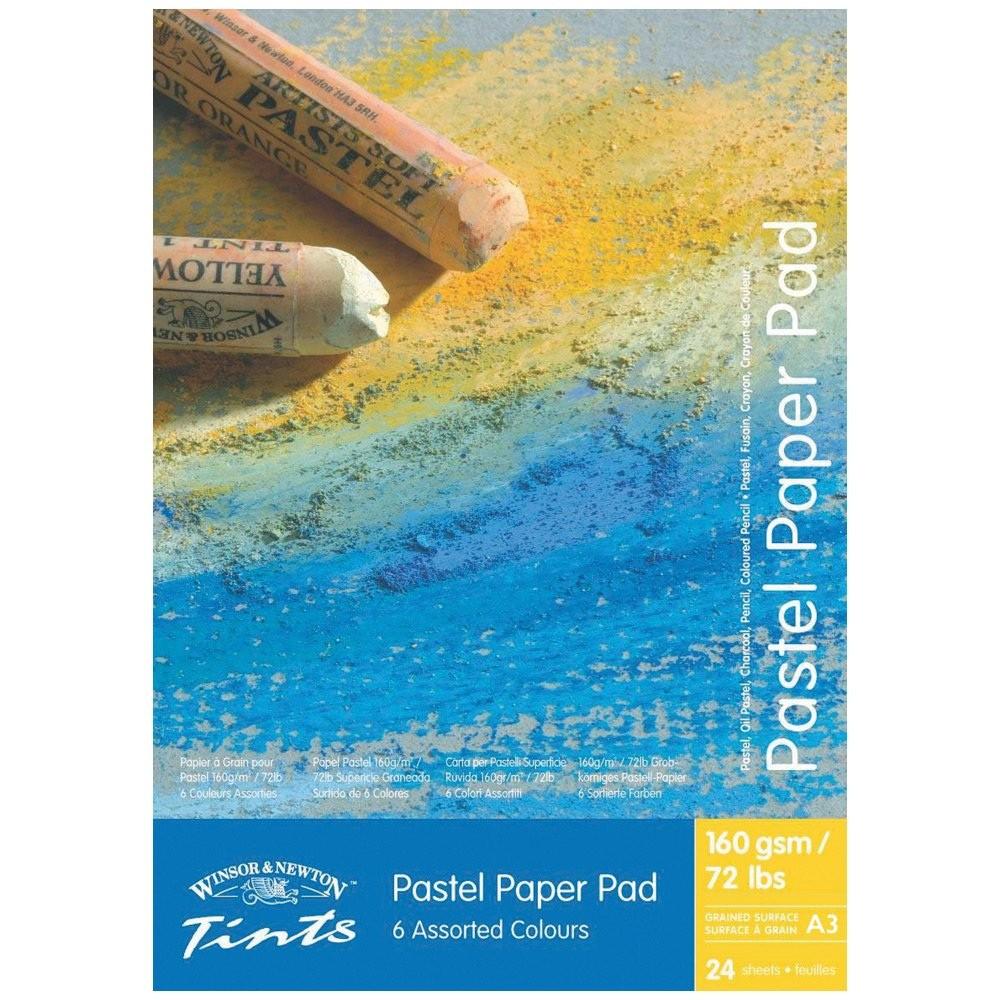 Купить Альбом для пастели, карндаша, угля Winsor & Newton 42х30 см 24 л (6 цв.х4 л.), Winsor & Newton