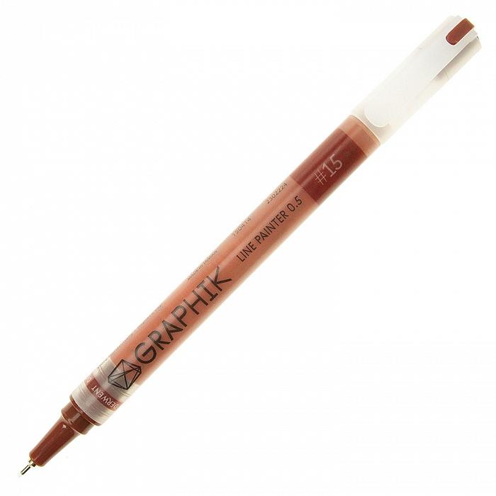 Купить Линер Derwent LINE PAINTER 0, 5 мм Красное дерево