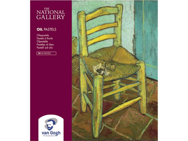 Купить Набор масляной пастели Talens Van Gogh National Gallery 24 цв, Royal Talens