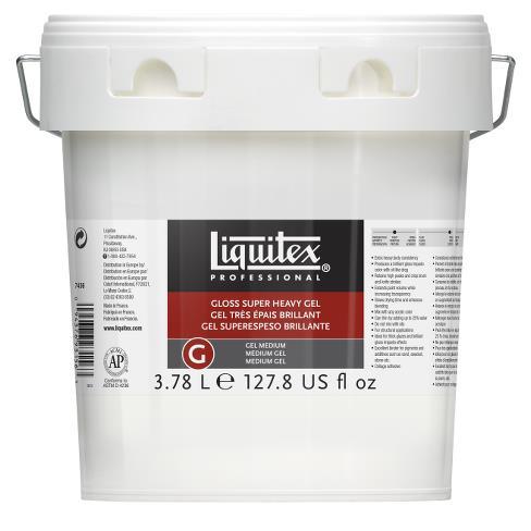 Купить Гель-медиум для акрила Liquitex Gloss Super heavy gel 3, 78 л супер глянцевый, плотный, США