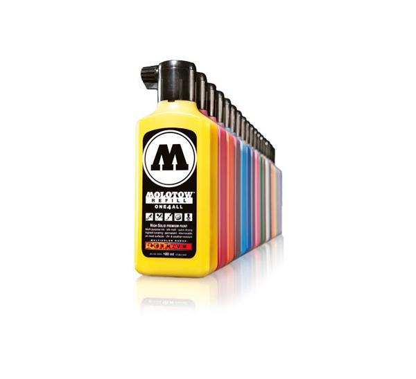 Купить Заправка для маркеров Molotow ONE4ALLЕ 180 мл, Германия