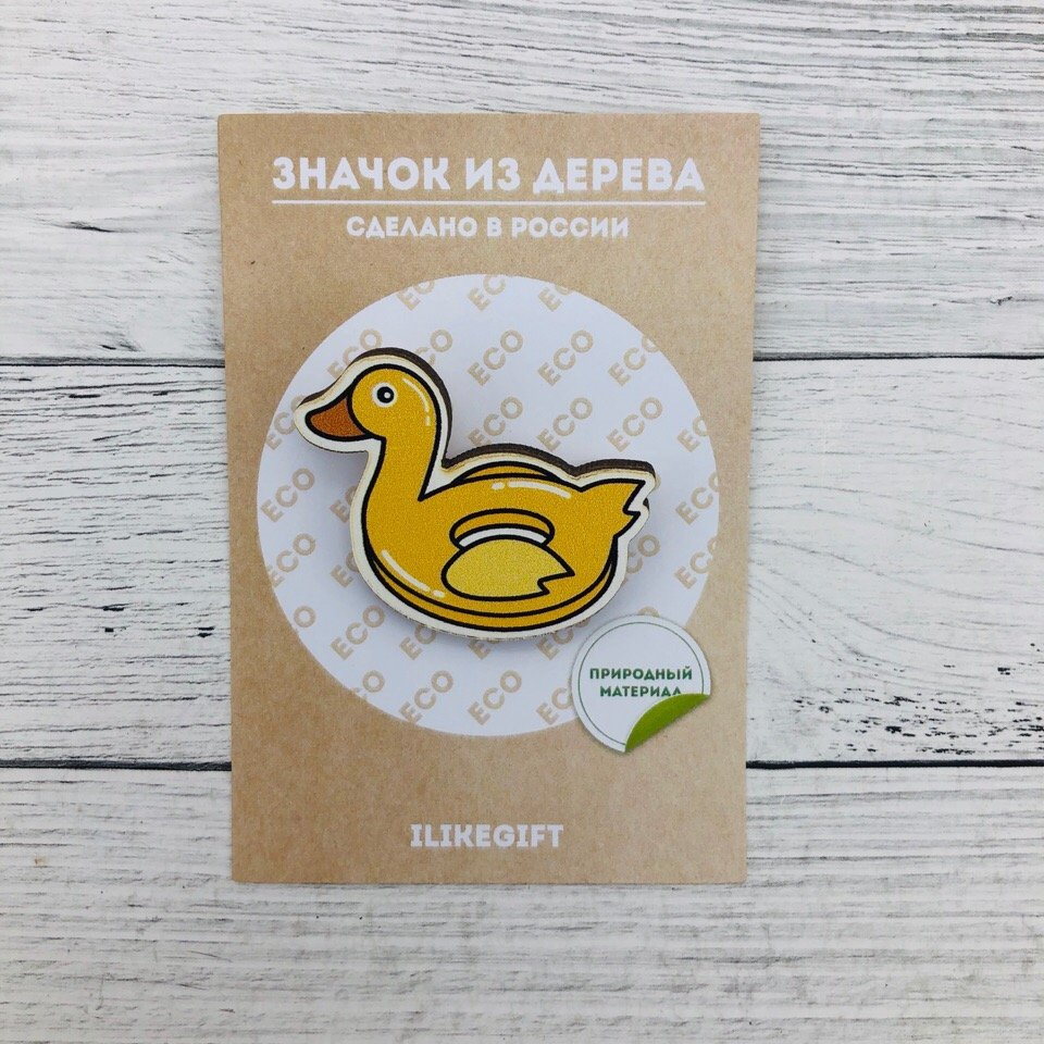 Купить Значок Rubber Duck , iLikeGift, Китай