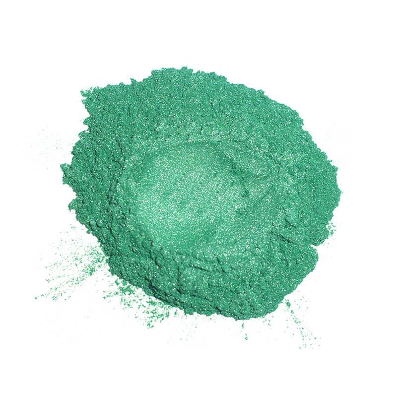 Купить Перламутровый пигмент для смолы ResinArt - зеленый 10 мл, Франция
