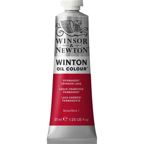 Купить Масло Winsor&Newton WINTON 37 мл перманентный малиновый ализарин, Winsor & Newton