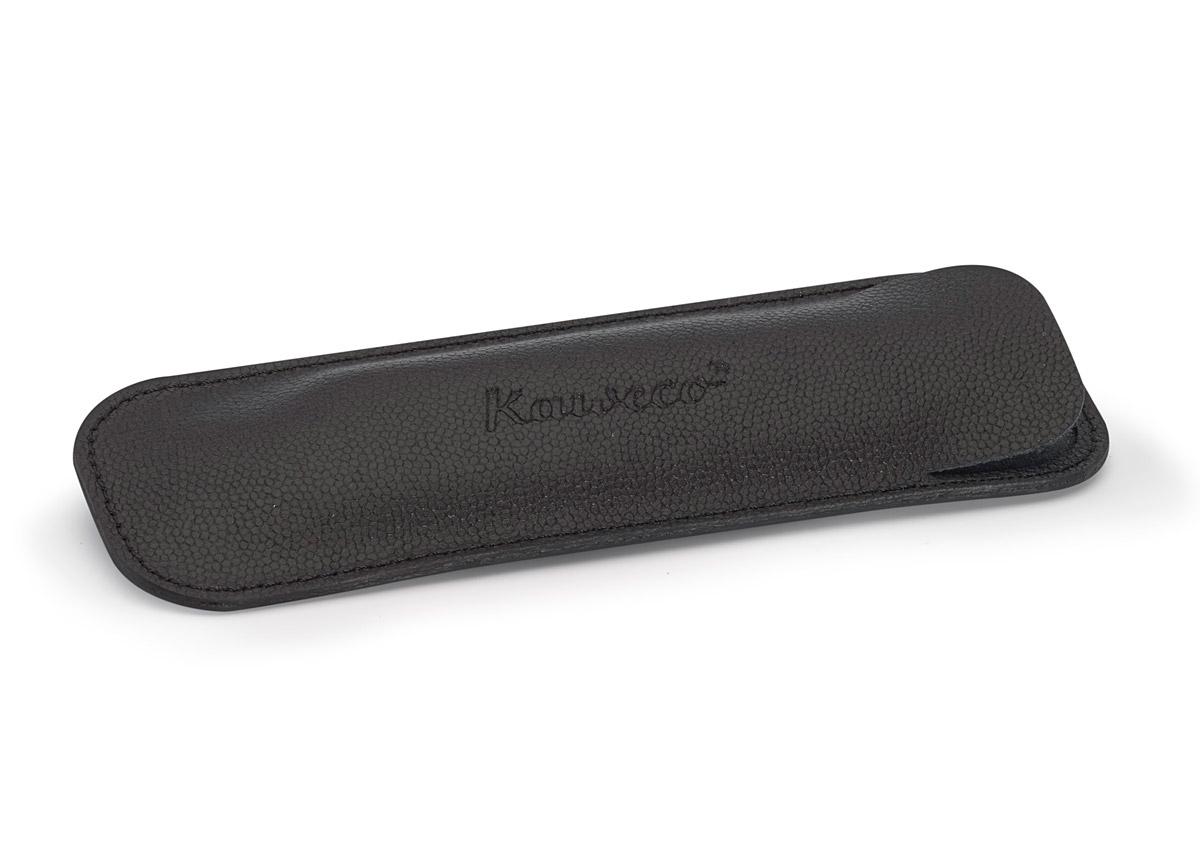 Купить Чехол для ручек Kaweco ECO для 2 длинных ручек кожаный, черный, Германия
