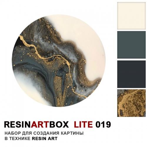 Купить Набор для создания картины из эпоксидной смолы ResinArtBox LITE 019 , Франция