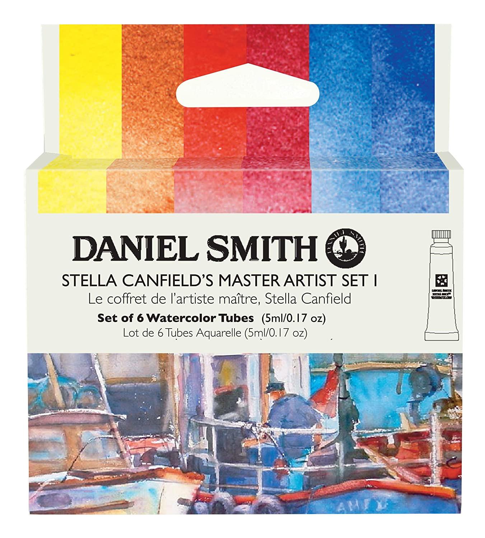 Купить Набор акварели Daniel Smith Stella Canfield's Master Artist Set I, в тубах 6 цв*5 мл, США