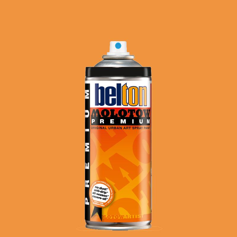 Купить Аэрозольная краска Molotow Premium belton 400 мл #233 NEON orange, Германия