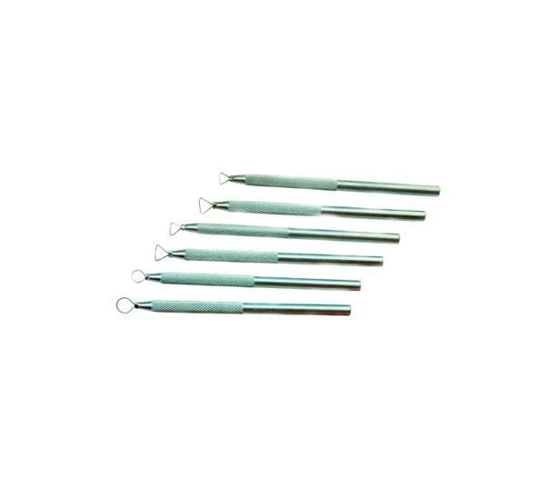 Купить Набор для моделирования стеки стальные 6 шт 13 см, ХоББитания, Китай