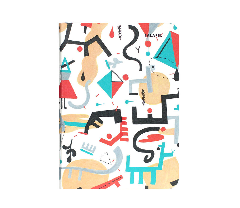 Купить Блокнот FALAFEL BOOKS А6 Kyte, Россия