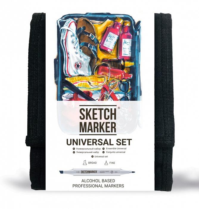 Купить Набор маркеров Sketchmarker Universal set 12 шт, Япония
