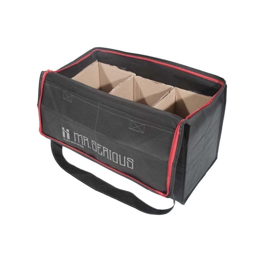 Купить Сумка Mr. Serious на 18 баллонов Spray can bag black, Mr.Serious, Германия