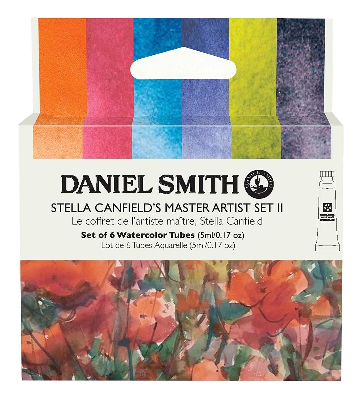 Купить Набор акварели Daniel Smith Stella Canfield's Master Artist Set II, в тубах 6 цв*5 мл, США
