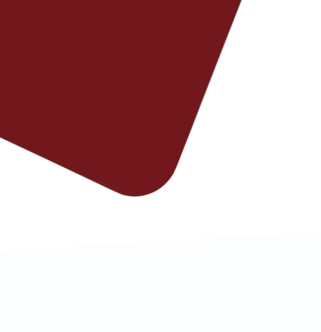 Планшет для пленэра из оргстекла 3 мм, под лист размера 40х60 см, цвет бородовый фото