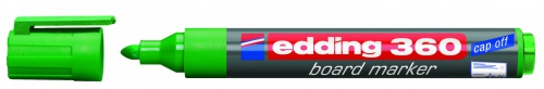 Купить Маркер для доски Edding 360 1, 5-3 мм с круглым наконечником, зеленый, Германия