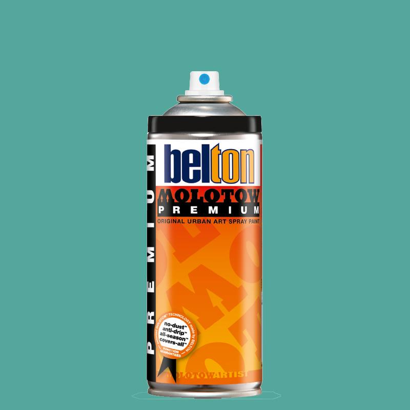 Купить Аэрозольная краска Molotow Premium belton 400 мл #119 blue gin, Германия