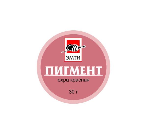 Купить Пигмент Эмти Охра красная 30 г, Альбатрос, Россия