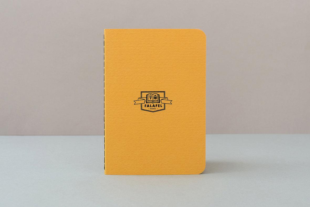 Купить Блокнот FALAFEL BOOKS А6 Yellow, Россия