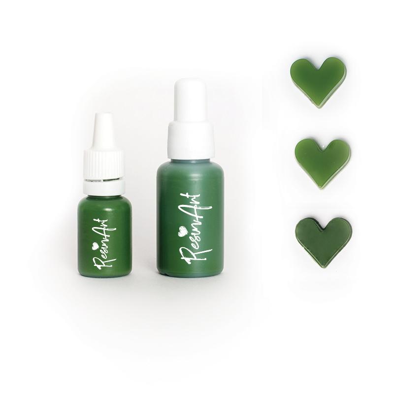 Купить Краситель для эпоксидной смолы ResinArt 10 мл светло-зеленый, Франция