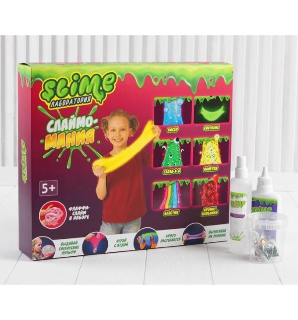 Купить Игрушка Slime Большой набор для девочек Лаборатория 300 г, Россия
