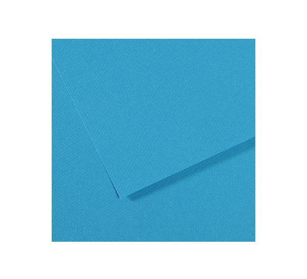 Купить Бумага для пастели Canson MI-TEINTES 75x110 см 160 г №595 бирюзовый, Франция