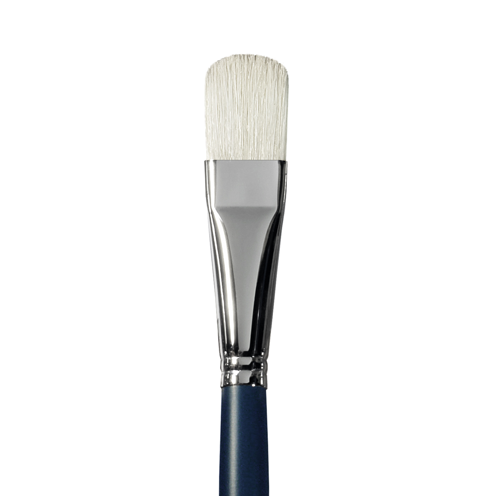 Купить Кисть щетина №20 овальная Альбатрос Байкал длинная ручка, Россия