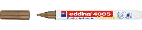 Купить Маркер меловой Edding 4085 1-2 мм с круглым наконечником, медный, Германия