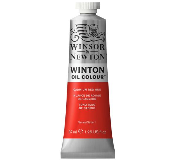 Купить Масло Winsor&Newton WINTON 37 мл красный кадмий, Winsor & Newton
