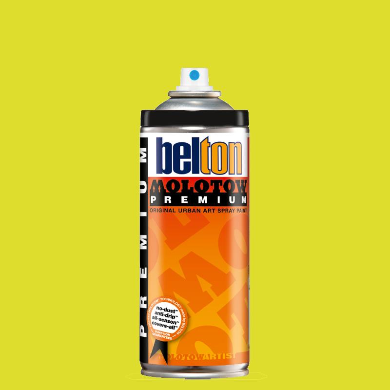 Купить Аэрозольная краска Molotow Premium belton 400 мл #174 poison green, Германия