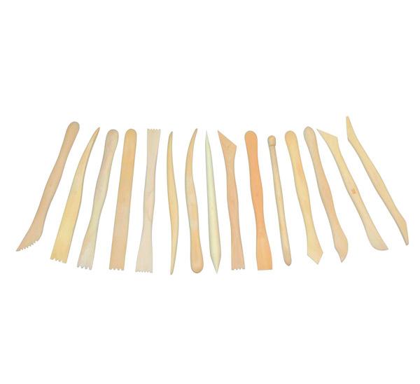Купить Набор для моделирования стеки деревянные 15 шт 20 см, ХоББитания, Китай