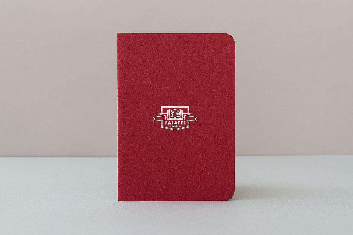 Купить Блокнот FALAFEL BOOKS А6 Red, Россия