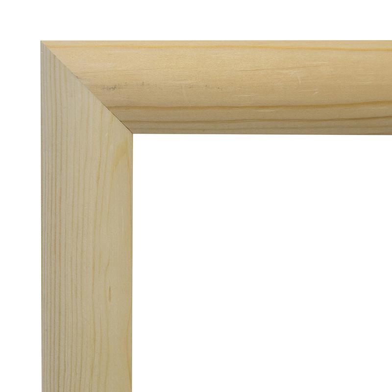 Рама 30х35 см деревянная некрашенная (ширина багета 3,3 см) фото