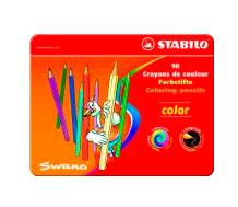 Купить Набор карандашей цветных Stabilo Swano Color 18 цв, Германия