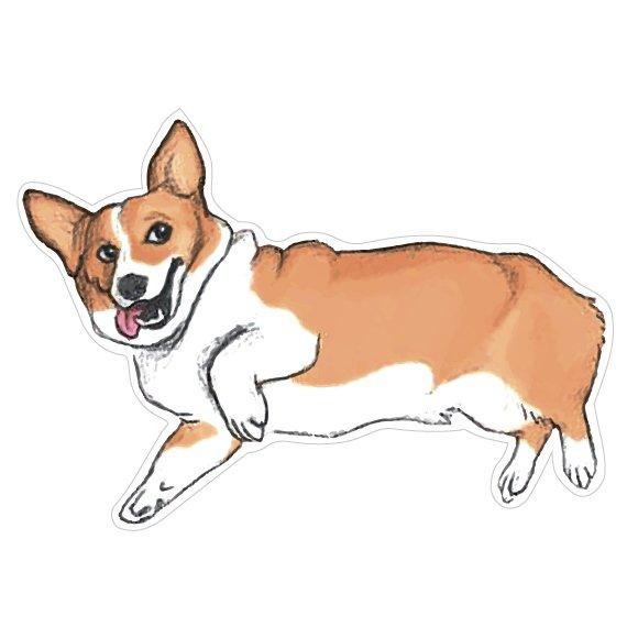 Купить Значок Собака - Корги , Kawaii Factory, Китай