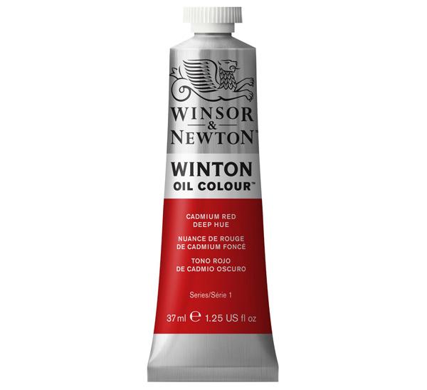 Купить Масло Winsor&Newton WINTON 37 мл кадмий красный темный, Winsor & Newton