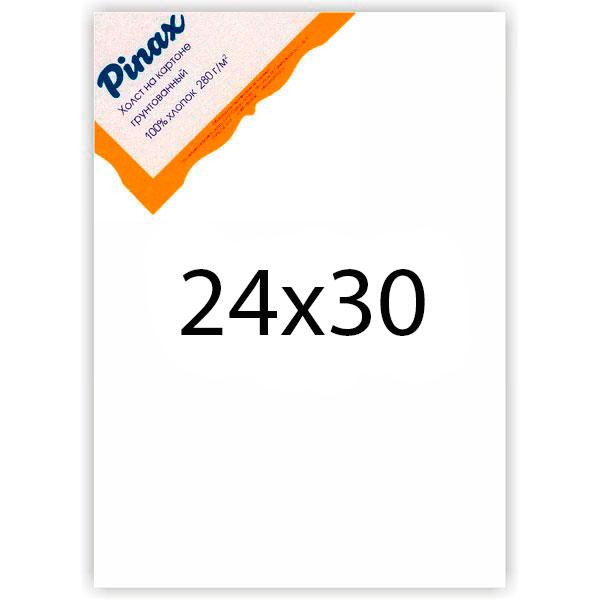 Купить Холст грунтованный на картоне Pinax 280 г 24x30 см, Китай